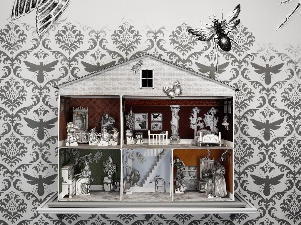 Line Art Dollhouse : Sunday feature jennifer linton kate hansen art